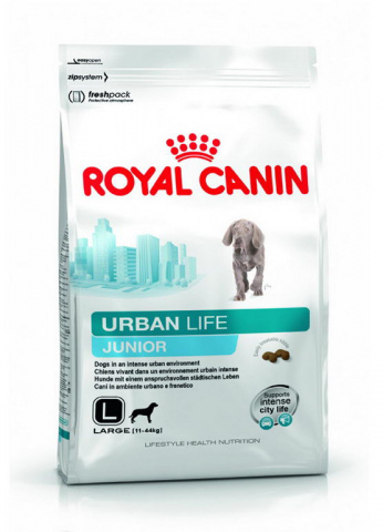 Royal Canin Urban Life Junior Large Сухой корм для щенков крупных пород живущих в городских условиях